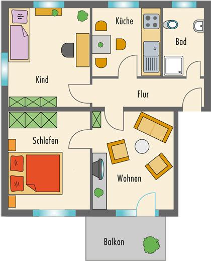 Die 60 Wohnungen Und 10 Häuser Umfassende Anlage Ist Mit Jeweils Nur 6  Wohnungen Pro Haus In Angenehm Kleine Einheiten Strukturiert.